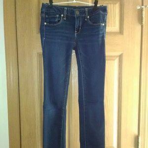 AE 5-Pocket Super Stretch Skinny Jeans EUC!